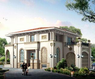 高端大气复式欧式风格别墅效果图