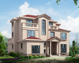 现代三层实用别墅