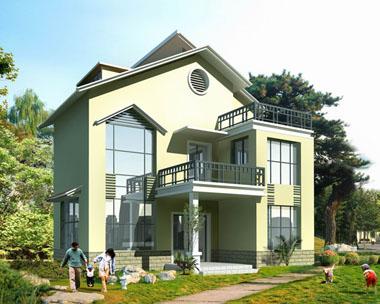 欧式精致简洁三层别墅图