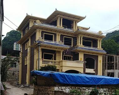 永云别墅AT1680四层漂亮别墅建筑案例图