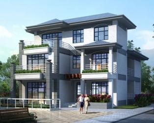 现代别墅设计图,建出来丝毫不输城里的别墅