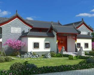 诗情画意的别墅——中式别墅设计图