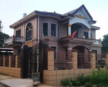 永云别墅AT1793二层私人自建实用别墅施工案例