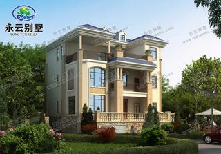 带地下层三层别墅设计图,外观清雅,内部豪华