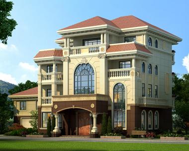 AS092永州唐先生四层豪华大气欧式别墅设计案例