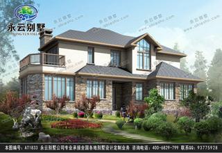 考虑建二层别墅么,那请别错过这两款二层别墅设计图
