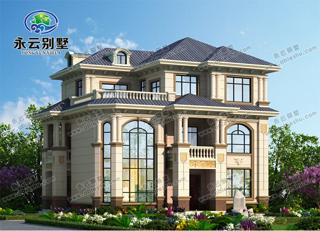 漂亮带庭院别墅设计图欣赏,享受惬意人生,成就优雅品质生活,你的别墅就差一个庭院