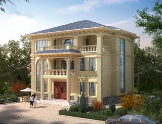 一块宅基地,两兄弟一起建,套房别墅是完美解决方案
