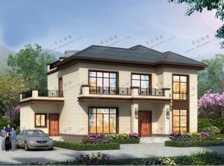 经济、舒适,农村建房就选它-简约二层新中式风格别墅,