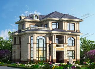12款三层别墅设计图纸,豪华、时尚,很多人都想建的户型,值得一看!