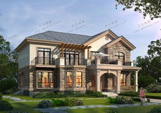 美式风格二层别墅,舒适、通畅的内部布局非常自在