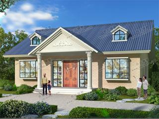 精选漂亮一层别墅设计图纸,20万以内就能盖,太划算了