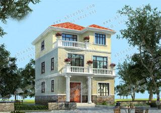 长12米宽8米住宅设计图,开间小的别墅也要建得漂亮大方,往这看。