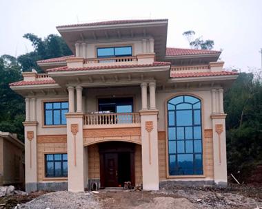 成都罗先生AT1700三层豪华高端别墅实建施工案例图欣赏