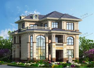 经典13x10米农村建房图纸,大小适中的农家别墅,看看也许会喜欢