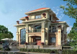 豪华16x10米农村建房图纸,门楼宽敞、气质无以伦比。