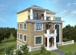 10x10米农村建房图纸5款,经典、时尚,农村建房首选