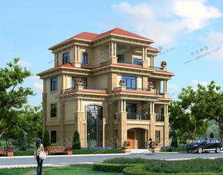 豪华15米x10米自建房设计图,气质出众,气势非凡,2020年就建它