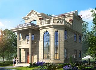 漂亮的10米宽11米长农村别墅设计图,来看看会喜欢哪款