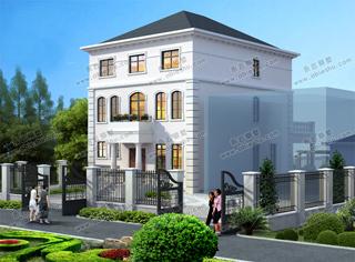 精品5款农村三层小别墅外观图,2020年建房不愁选不到好图纸了