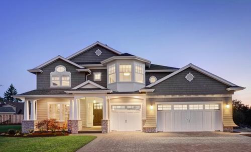 农村有块宅基地,四合院别墅设计让你的房子与众不同