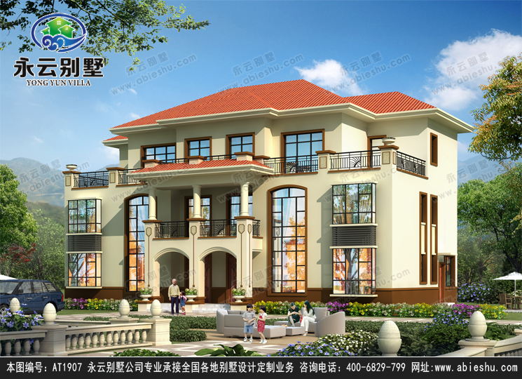 要建漂亮大房子?自建别墅设计来帮你