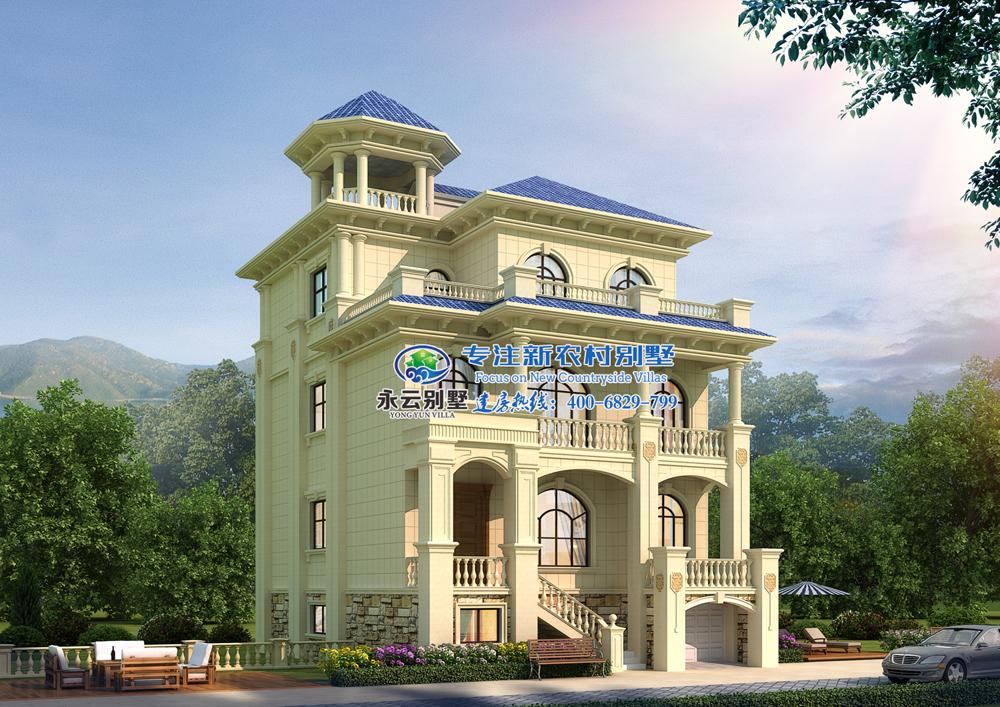 让别墅设计公司,为您设计古香古色却不失豪气的别墅