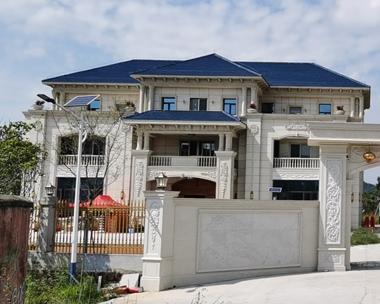 AT1678江西黄女士三层豪华别墅建筑施工案例图欣赏