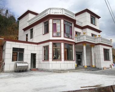 AT069法式风格三层带露台豪华别墅真实施工案例图欣赏