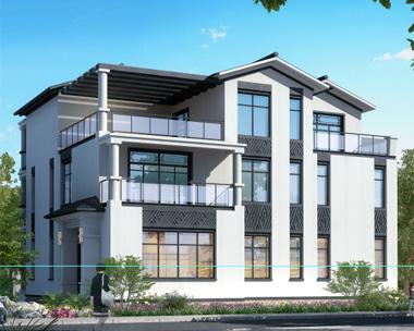 浏阳李女士现代新中式带地下室私人别墅定制设计案例图欣赏