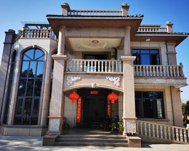 浏阳张女士三层复式别墅及园林室内装饰施工案例图欣赏