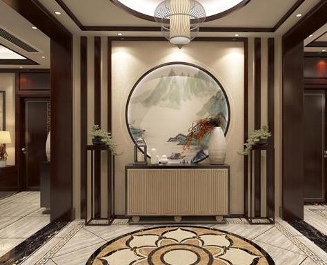 几种别墅常见类型玄关的设计要点
