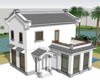 631二层新农村小型别墅全套图纸10m×9m