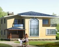 685二层新农村住宅小别墅设计图12m×10m
