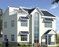 0881实用二层半新农村住宅设计图纸11m×12m
