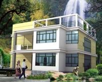 695二层新农村小康别墅住宅设计13m×11m
