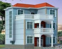 [永云别墅]AT145三层新农村现代别墅设计图纸全套10m×13m