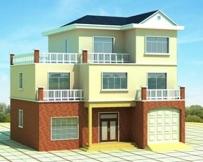 [永云别墅]AT908经典三层别墅设计图施工图纸13m×12m