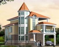 606独栋豪华度假别墅设计全套图13m×20m