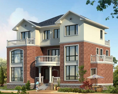 【永云别墅】AT857三层复式别墅建筑结构施工设计全套图纸19m×13m