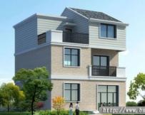 315号新农村三层别墅住宅设计图纸10m×10.14m