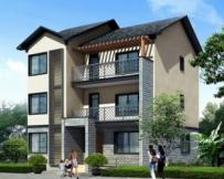AT903三层新农村自建房别墅住宅建筑施工设计图纸 10m×13m