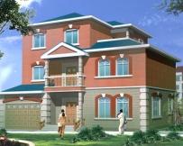 466号三层加阁楼别墅设计方案15m×12m