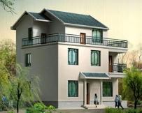 310三层农村房屋私人别墅设计图纸10m×10m