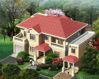别墅图纸超市AT30带店铺二层别墅全套结构水电设计图纸20x14m