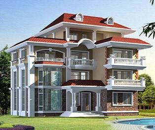 永云别墅AT42号四层奢华大气占地200平米别墅设计施工图纸 17m×13m