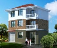 [永云别墅]AT907三层农村自建房别墅住宅设计图纸11m×10m