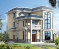AT43三层豪华别墅设计图纸结构水电图10m×13.5m