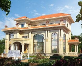永云别墅AT092三层高端大气复式别墅全套设计图纸17.7mx15.7m
