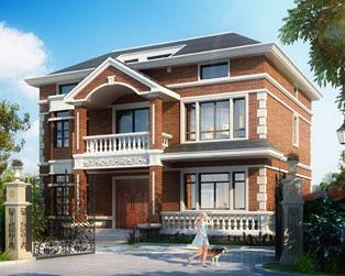 永云别墅AT207二层实应型别墅带阁楼全套设计图纸12mx10.8m